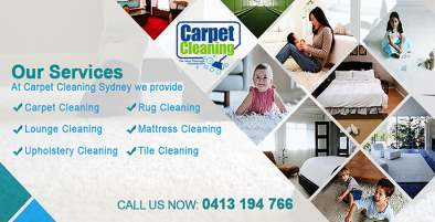 Carpet Cleaners Woolwich 2110